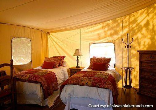 Wall Tents - Montana Canvas Luxury Tent & Montana Canvas Luxury Tent