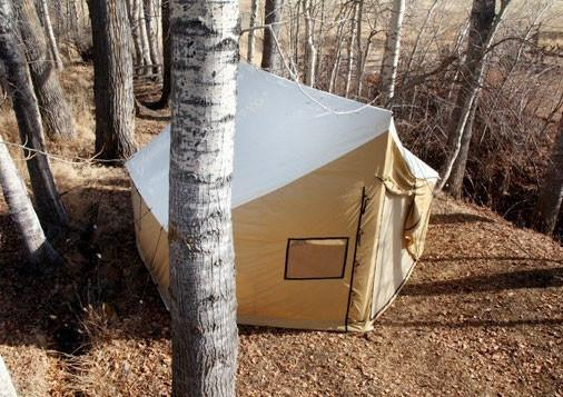 Wall Tents - Montana Canvas Wall Tent