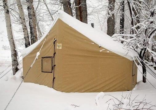 Montana Canvas Wall Tent