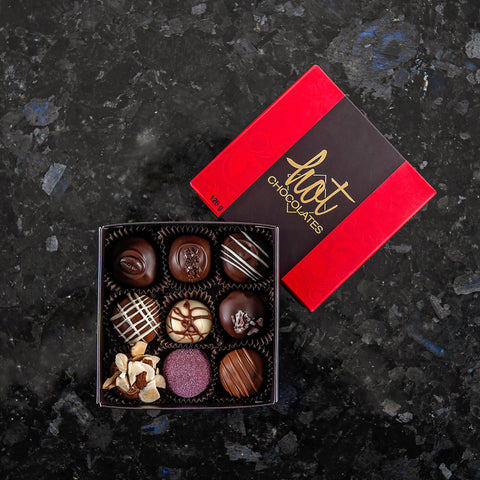 Box of 9 Truffles