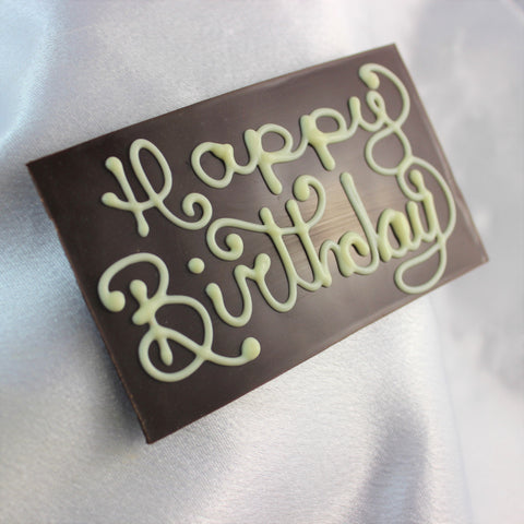 Chocolate Wishes Cake Plaque