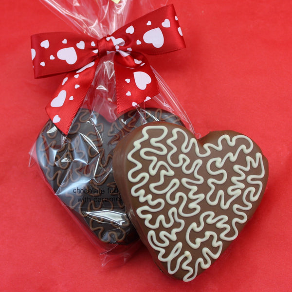 Fudge Heart Chocolate