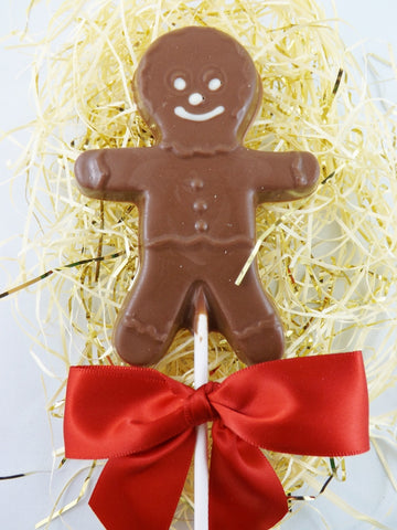 Gingerbread Man Sucker