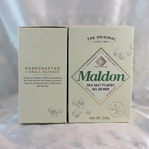 Sea Salt Flakes by Maldon