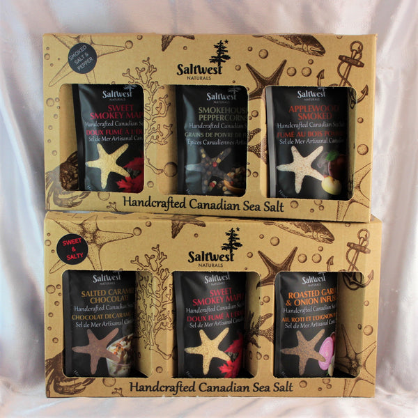 Sea Salt Gift Packs by SaltWest
