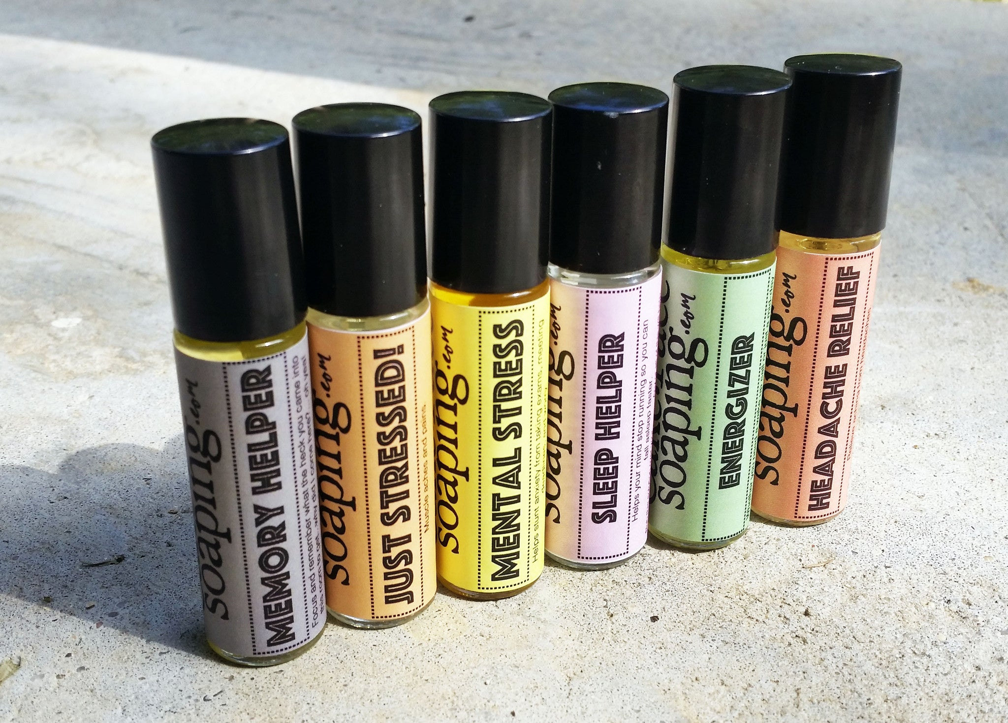 Energizer Roll-on Perfumed oil