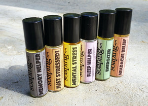Energizer Roll-on Perfumed oil - CakeFaceSoaping