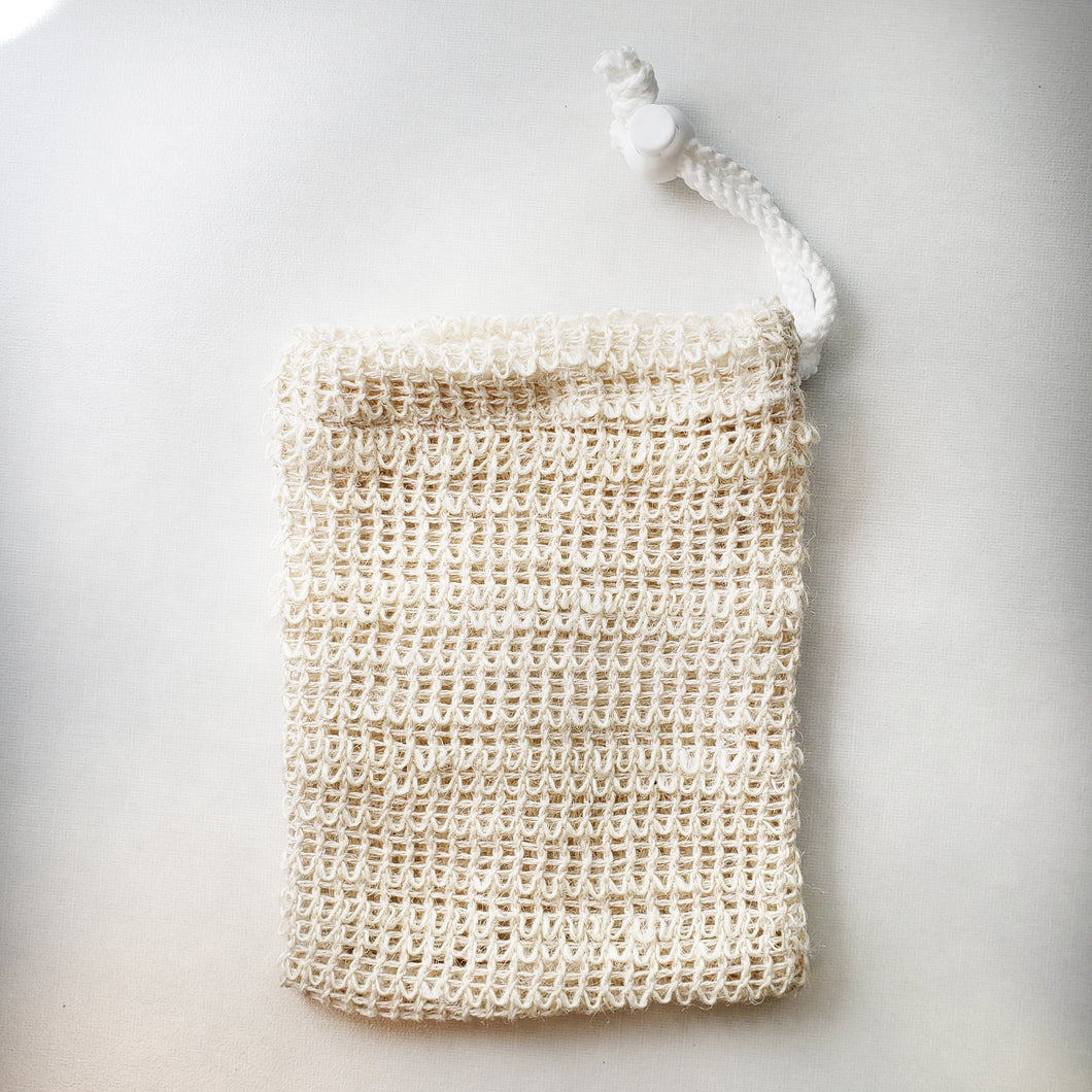 Soap Pouch with drawstring
