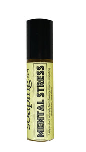 Mental Stress Roll-on Perfumed oil - CakeFaceSoaping