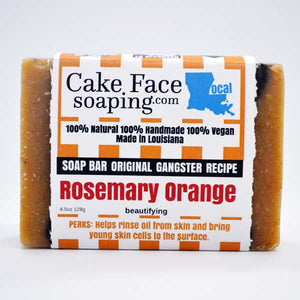 Rosemary Orange - CakeFaceSoaping