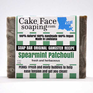 Spearmint Patchouli - CakeFaceSoaping