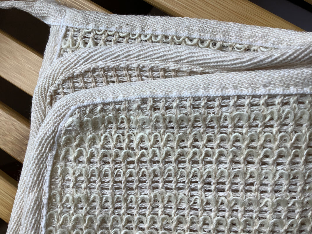 Sisal Washcloth - CakeFaceSoaping