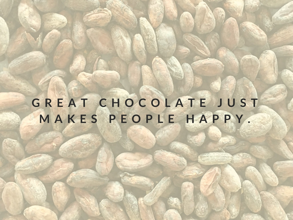 Great Chocolate Makes People Happy