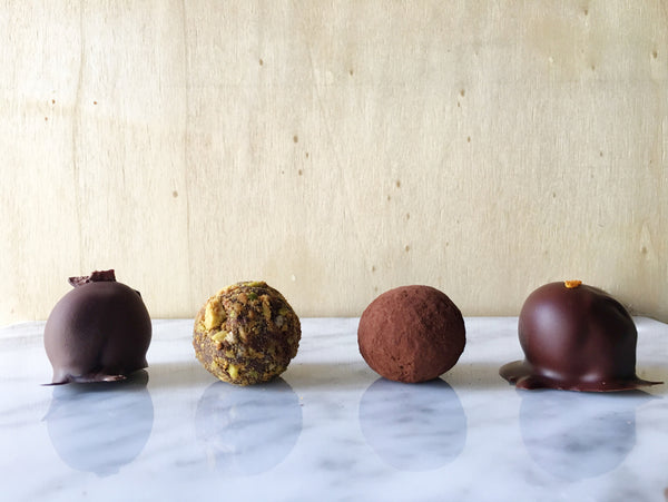 Box of 4 Truffles - hellococoachocolate