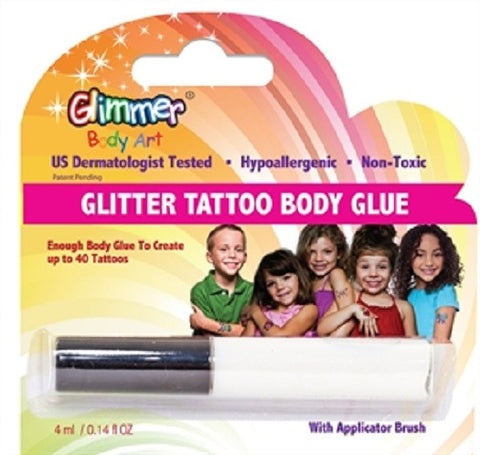 Glimmer Body Art - Glitter Tattoo Body Glue