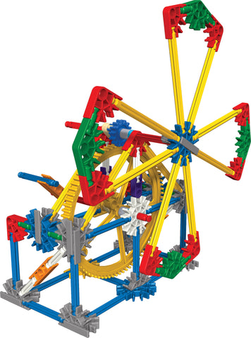 Introduction To Simple Machines Gears Stem Building Set By K Nex