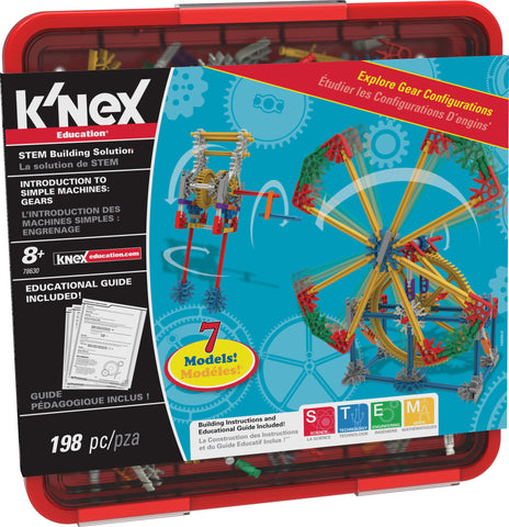 Introduction to Simple Machines: Gears STEM Building Set, by K'Nex