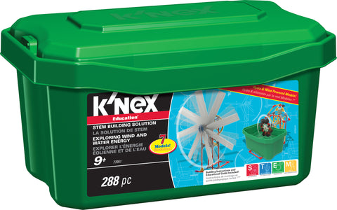 Exploring Wind and Water Energy STEM Building Set, by K'Nex