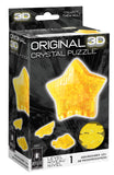 Original 3D Crystal 38-Pc Puzzle Star Model