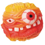 Monster Head Squeezable Squishable Fun Ball - Colors Vary