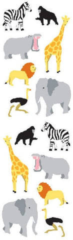 Mrs Grossman's Stickers - Wild African Animals