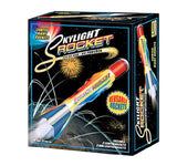 Skylight Rocket - Flies Sky-High With Launch Pad and Lighted Rockets