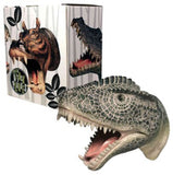 Tyrannosaurus Rex Attack Wall Hook Hanging Art  Plaque