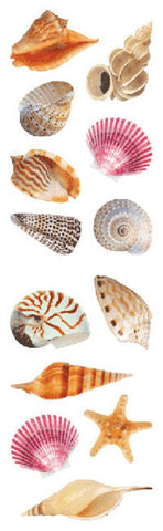 Mrs. Grossman's Stickers Sea Shells Full Roll
