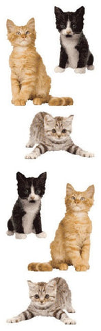 Mrs Grossman's Stickers - Adorable Kitten Photos