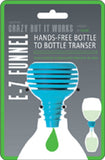 E-Z Funnel - Hands Free Bottle to Bottle Transfer by Jokari
