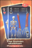 Bones Of The Human Skeleton Deck of Playing Cards