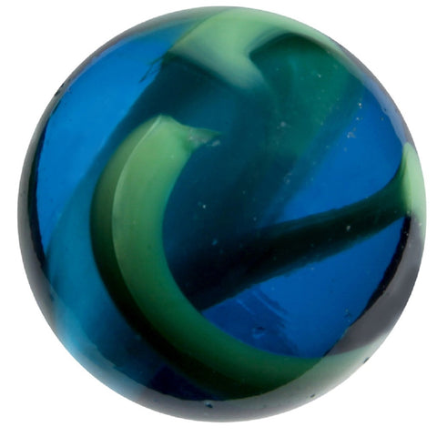 "Enormous Glass ""Sea Turtle"" Marble - 50mm - by House of Marbles"