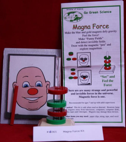 Floating Magnets Go Green! Scout/4-H Magna Force Kit