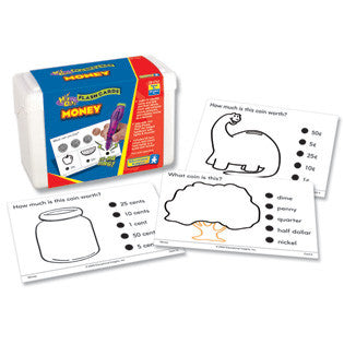 Hot Dots Money Flashcards Kit - Grade 1+