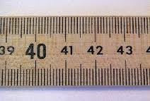Wooden Half Meter Measure Stick; Pack of 6