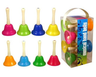 Set of 8 Musical Hand Bells & Song Sheet by Streamline
