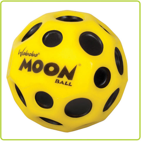 Waboba MOON Extreme Neon Bouncing Ball 2.5 Inches Colors Vary (Yellow, Red, Orange, Blue, Neon Yellow)