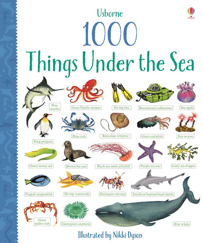 Usborne 1000 Things Under The Sea Board Book