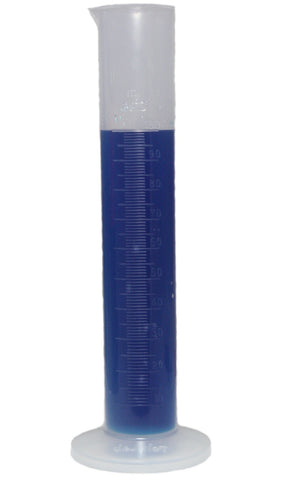 100mL Polypropylene Measuring Cylinder - 100mL Plastic Graduated Cylinder - Online Science Mall