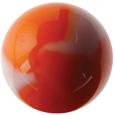 Massive Glass CARROT Marble -  42 mm (1.65 Inch) by House of Marbles