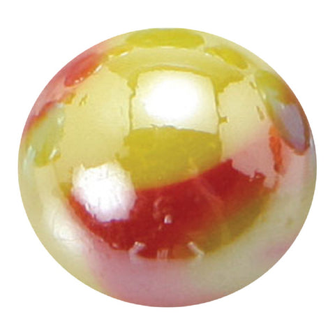 Giant Glass Solar Marble 35 mm (1.3 Inch) by House of Marbles