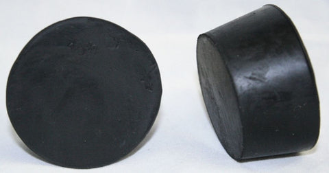 Rubber Stoppers: Solid: Per Pound: Size 10.5 (~6 Per LB.)
