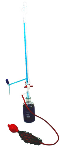 Class A 50mL Automatic Burette w/2000mL Storage Bottle