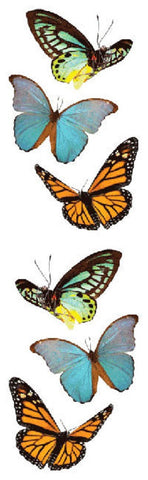 Mrs Grossman's Stickers - Butterflies - Animal Photos
