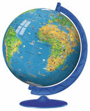 Children's Earth Globe 180 Piece 3D Puzzle Ball, by Ravensburger