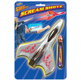 GeoSpace Pump Rocket: Scream Shotz Plane & Launcher Set