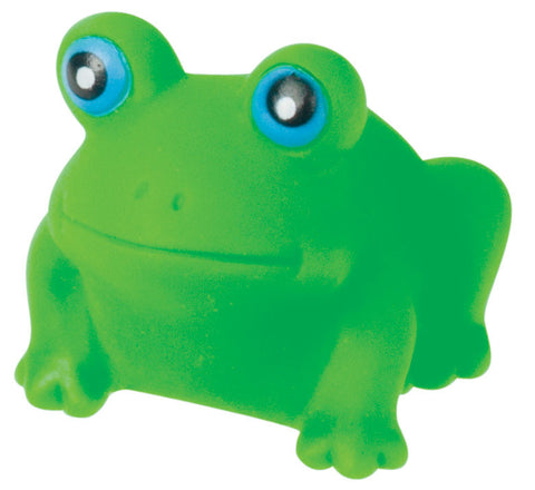 Rubber Frog Family - Set of 4 Froggies - Mom & 3 Babies For Bath Time Fun