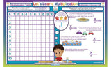 Let's Learn Multplication - Math Activity Placemat  by Tot Talk