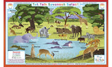 Savannah Safari - Activity Placemat by Tot Talk