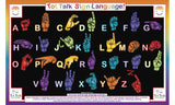 Sign Language Activity Placemat by Tot Talk